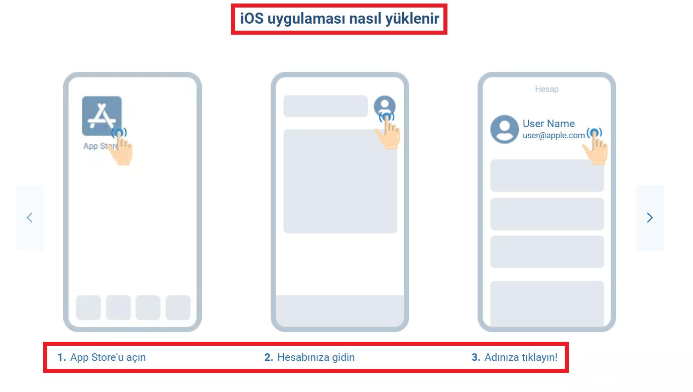 1xBet iOS nasıl indirilir